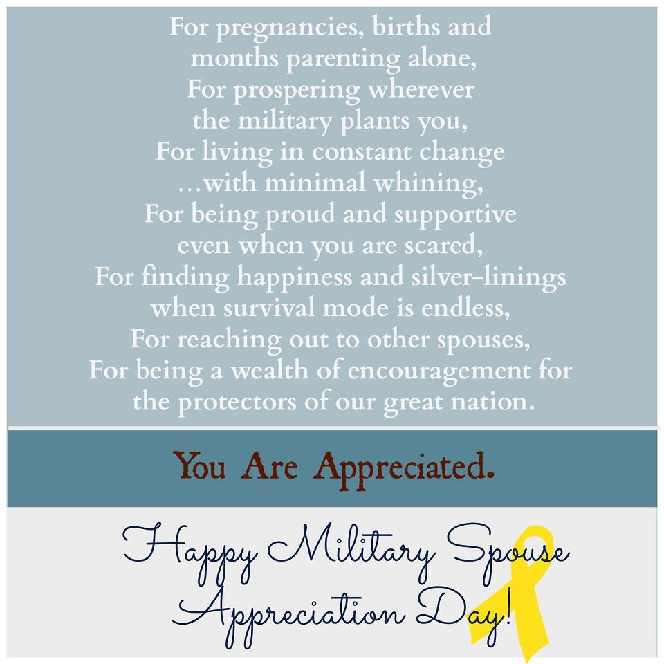 Our Harley Days: Military Spouse Appreciation Day