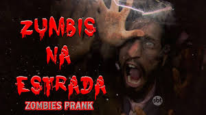 Zumbis na estrada - Zombies Prank