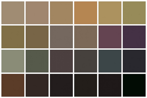 Dark Neutral Colors