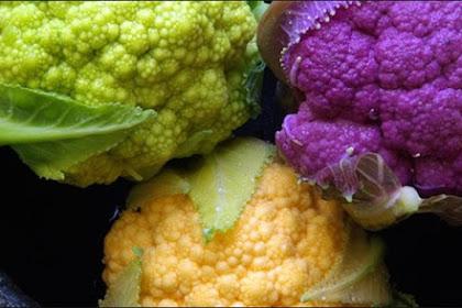 4 Jenis Sayuran Berwarna Yang Baik Untuk Dimakan Mentah