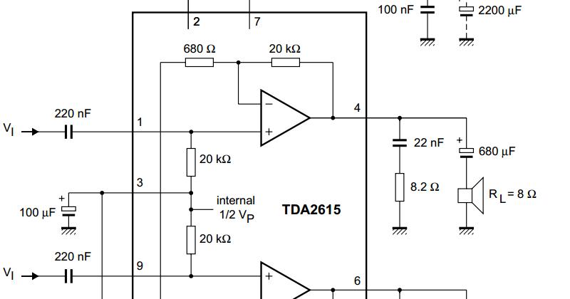 Tda2611a 5w audio amplifier 2 unid.