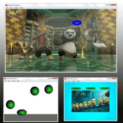Hasil Karya Murid Yang Belajar Kursus Flash Animation Pada Tempat Kursus Website, SEO, Desain Grafis Favorit 2015 di Jakarta DUMET School Degan Judul Karya Membuat Animasi dan Interactive