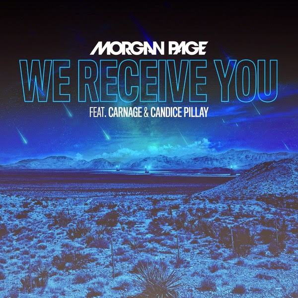 Morgan Page - We Receive You (feat. Carnage and Candice Pillay) - Single Cover