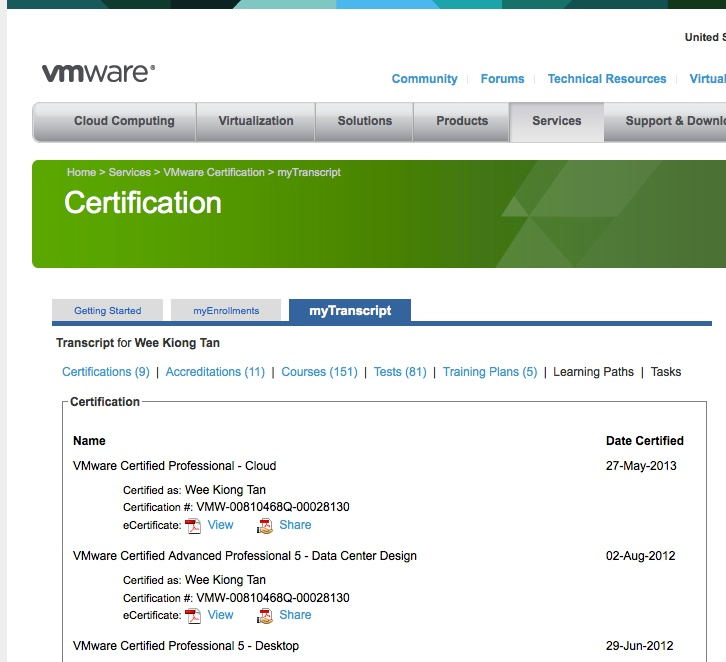 Plain Virtualization Vmware Certification Can Be Verified Now You