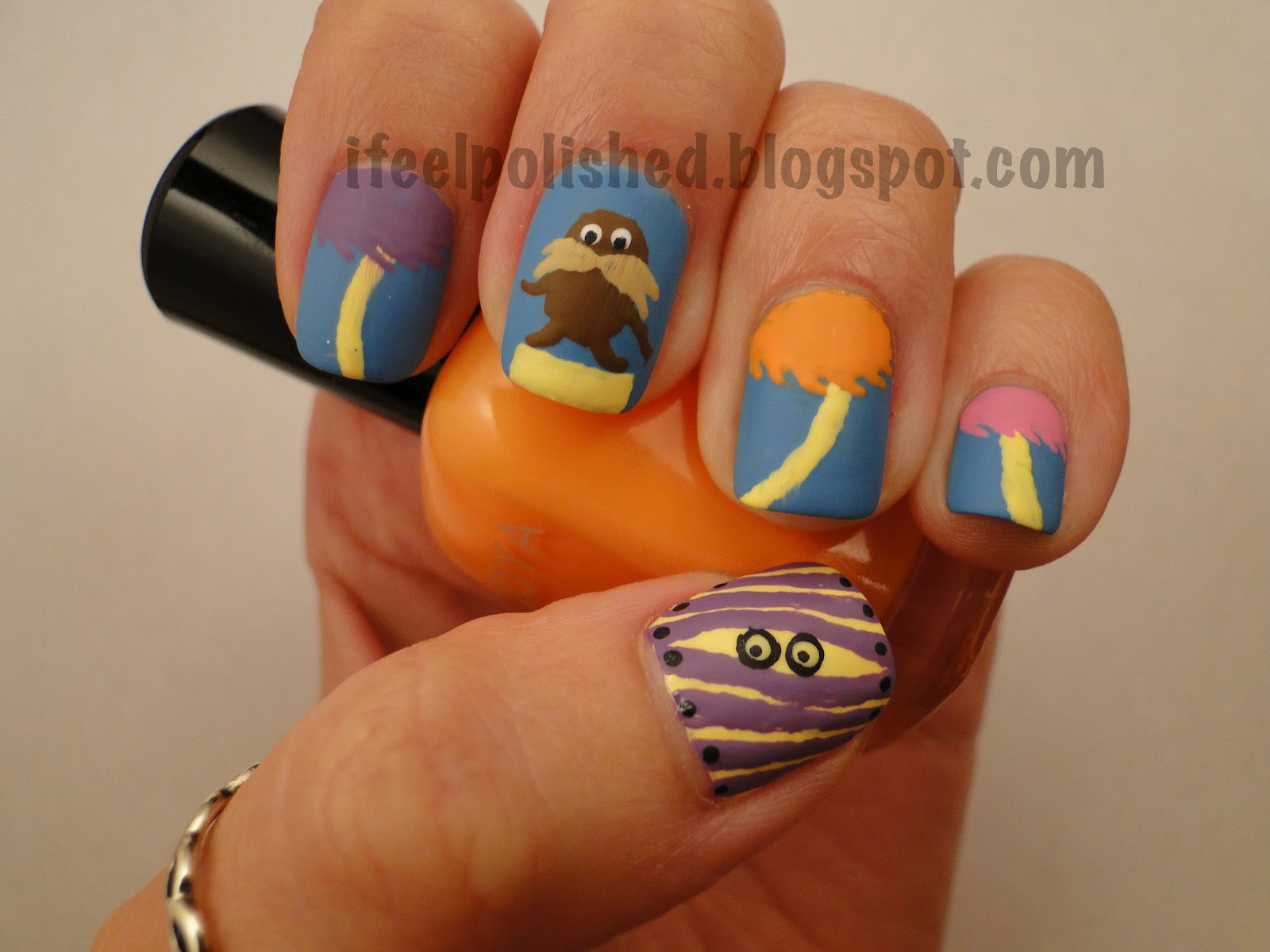 I Feel Polished!: Dr. Seuss Nail Contest