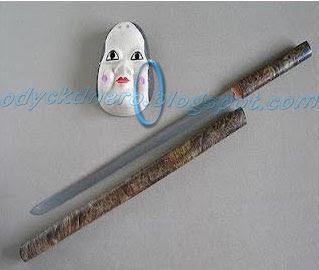 Chokuto Pedang Samurai Jepang