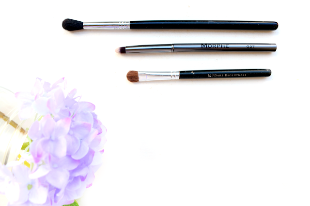 beauty, makeup, brushes, tools, eye, shadow, blending, best brush, favourite, youwishyou, 2015, Sigma E40, Morphe G27, Bare Minerals Wet/Dry Eyeshadow Brush, review