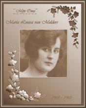 Mijn Belgische oma