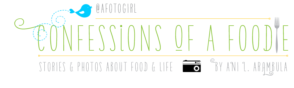 Confessions of a Foodie