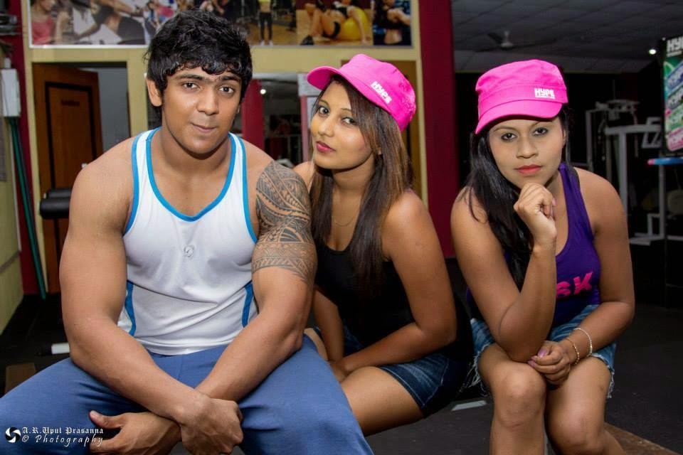 Shani Shenaya Wickremasinghe gym shorts