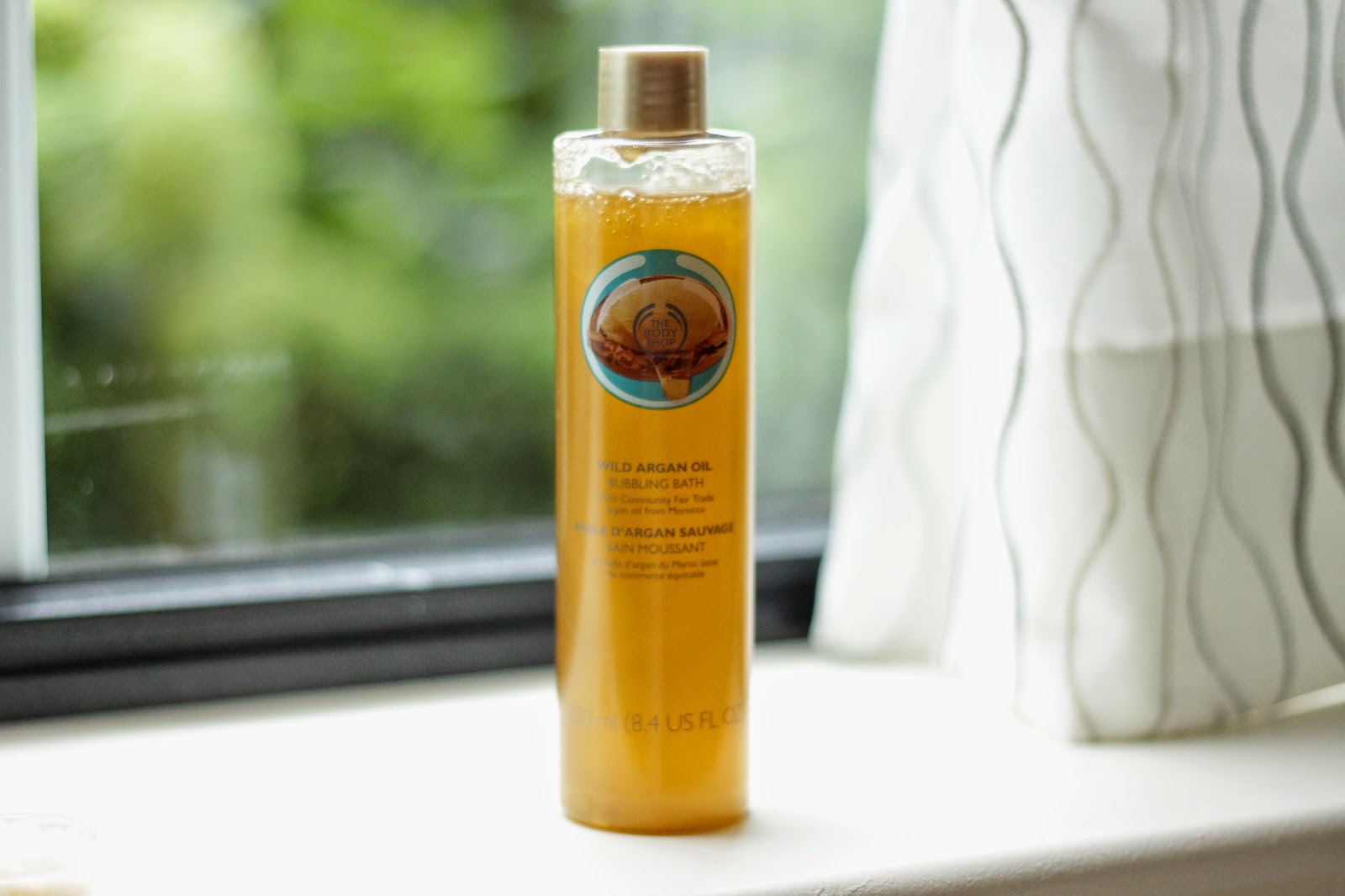 review ervaring the body shop wild argan oil lijn, review ervaring the body shop wild argan oil bubbling bath