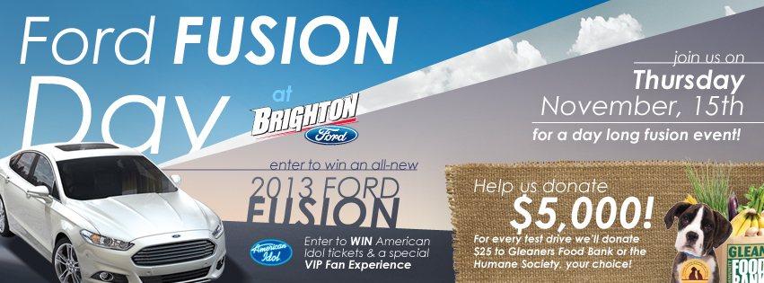 Ford Fusion Day at Brighton Ford