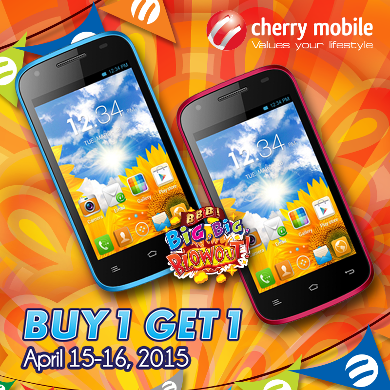 Cherry Mobile Ruby Buy One Take One