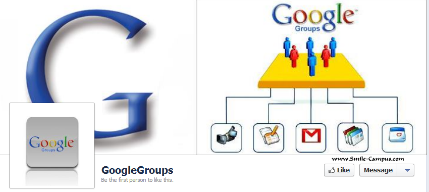Google groups Facebook Timeline Page