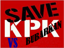 Save vs bubarkan KPK di Mata Praktisi ahli budayawan untuk Indonesia Bangkit
