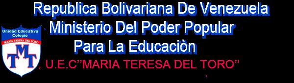 Maria Teresa del Toro