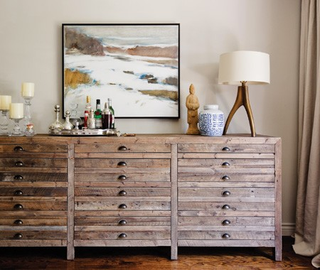 Sense And Simplicity 5 Ways To Style Your Sideboard