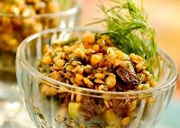 Salada de Lentilhas e Frutas Secas (vegana)