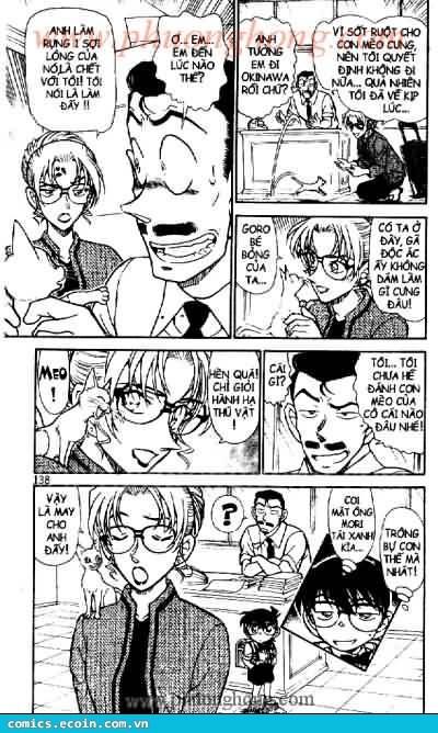 Detective Conan - Thám Tử Lừng Danh Conan chap 529 page 16 - IZTruyenTranh.com