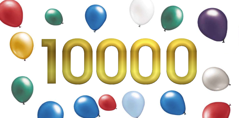 Happily Ever Crafter: 10,000 Pageviews!