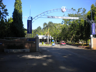 Gate A UiTM Arau Perlis