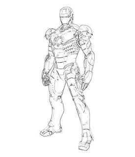 Dibujos de Iron Man