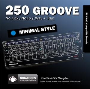 Giga Loops - 250 Grooves Minimal Style [WAV/REX] screenshot