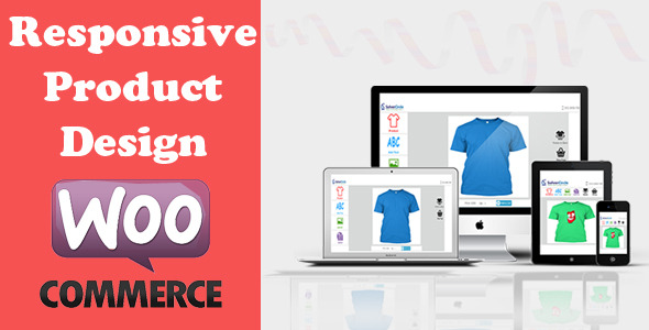 Free Download Wordpress Plugin Responsive Product Designer for WooCommerce