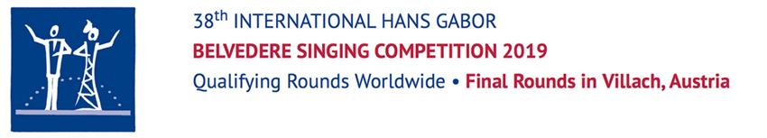38th International Hans Gabor Belvedere Singing Competition 2019