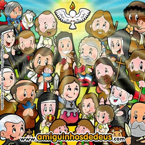 dia de todos os santos desenho