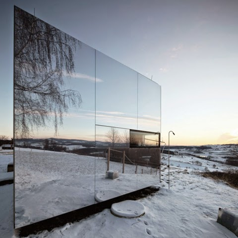 Mirrored Cabin