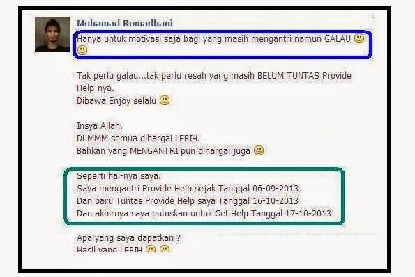 komentar mmm indonesia