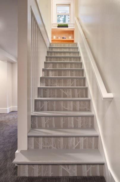 merdiven basamakları dekoru