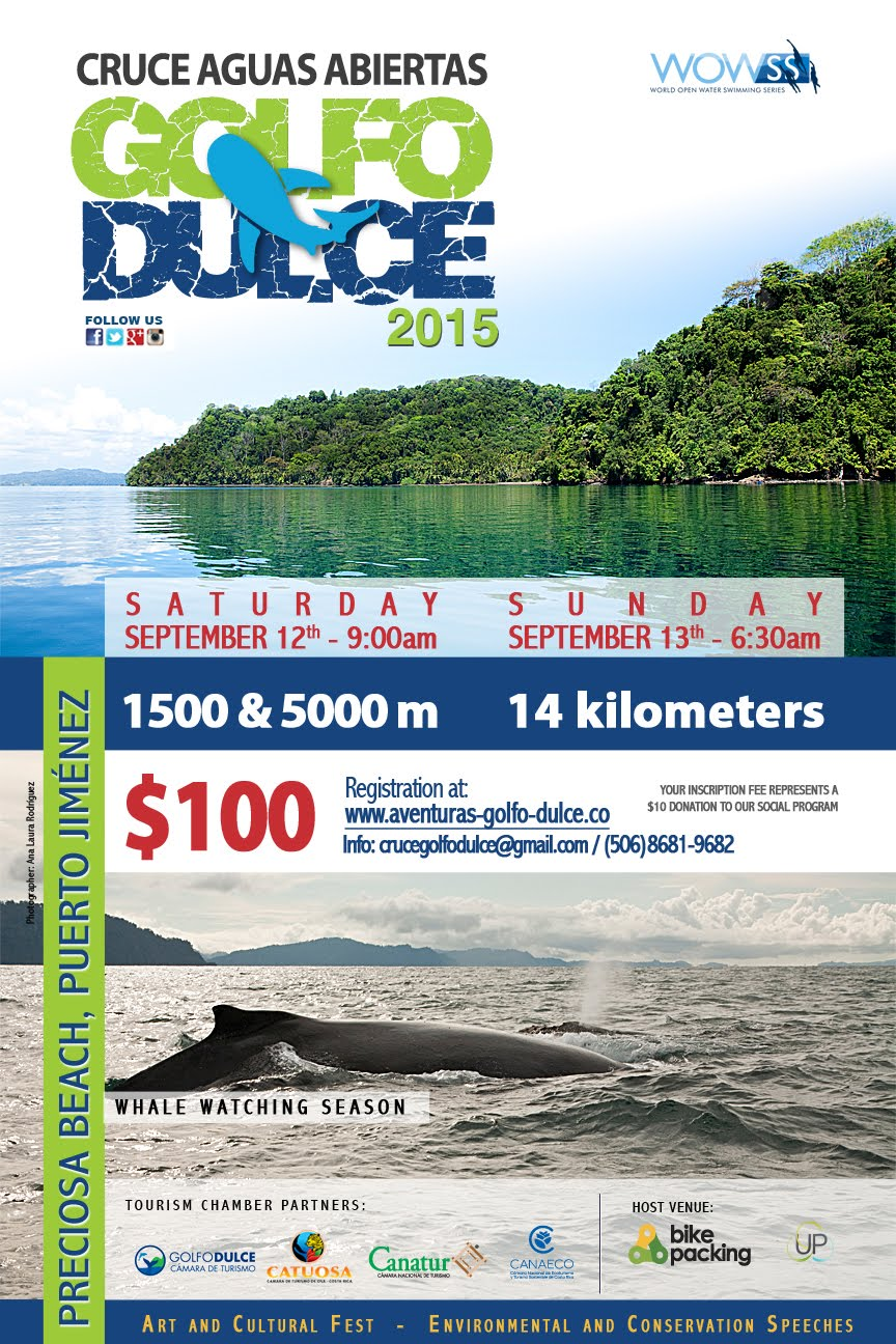 Cruce Aguas Abiertas Golfo Dulce