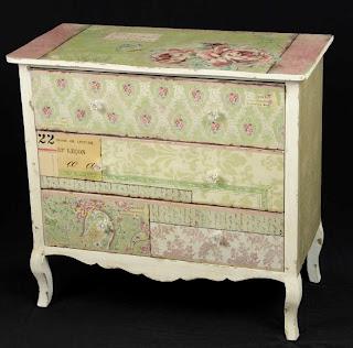 La web de la decoracion y el mueble en la red c modas decoradas y pintadas - Comodas pintadas ...