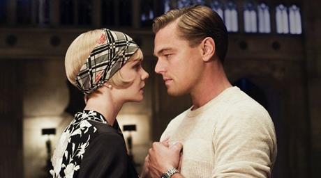 """Carey Mulligan y Leonardo DiCaprio en """"El Gran Gatsby"""""""