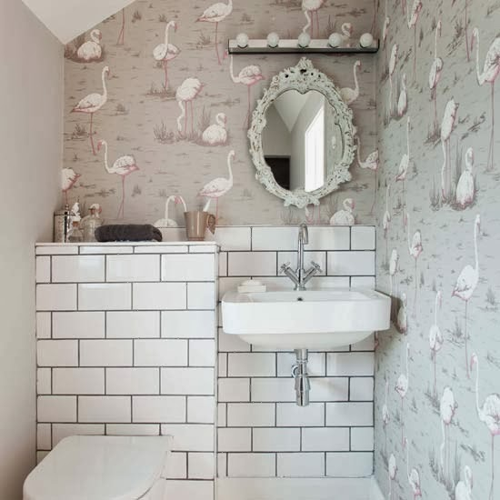 Do S Don Ts For Decorating With Black Tile: To Da Loos: White Subway Tiles With Dark Grout Do We Like It?