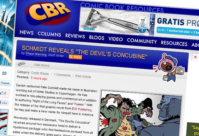 The Devil's Concubine: COMIC BOOK RESOURCES INTERVIEW