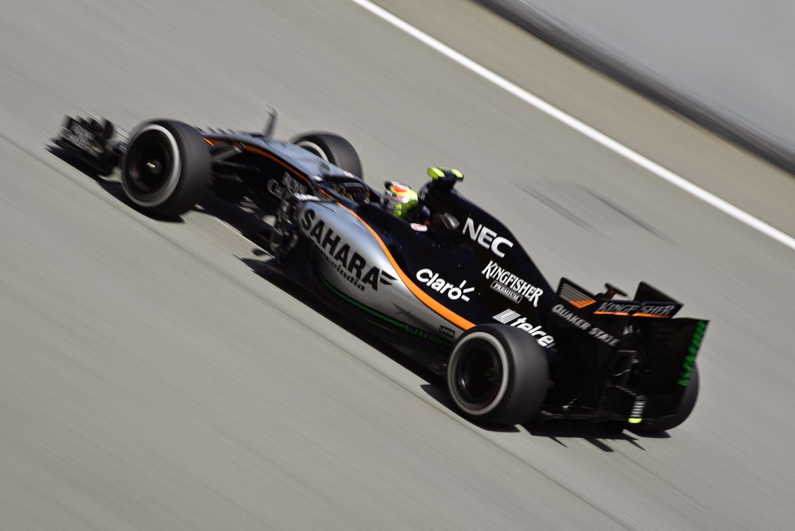 Force India Formula One Car