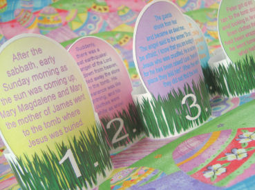 Christian easter crafts for kids teaching them the easter story try these no bake and easy to assemble empty tomb treats for kids negle Images