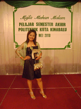 BEST STUDENT of Civil Engineering Deparment Politeknik Kota Kinabalu, Sabah!!~ :D