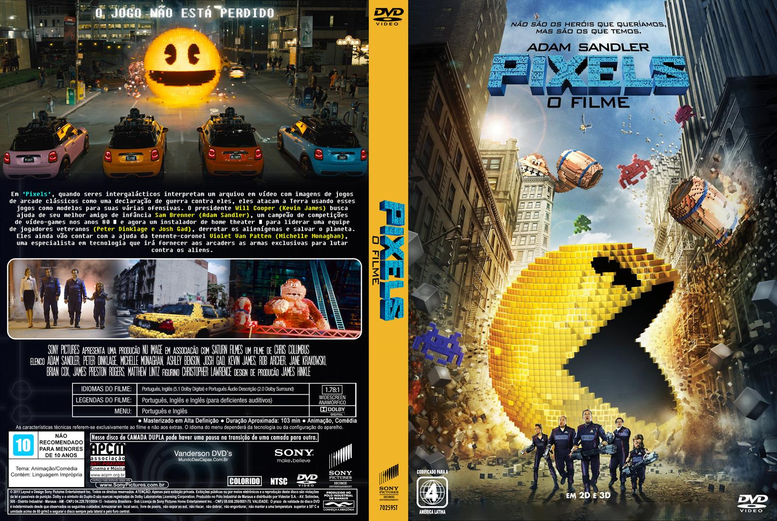 Download Pixels BDRip XviD Dual Áudio Pixels 2B 2BO 2BFilme