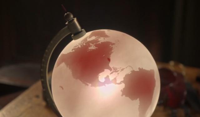 El globo terráqueo encuentra-hijos Ouat212
