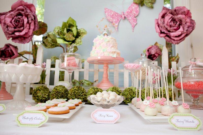Karas Party Ideas Fairy Garden 3rd Birthday Butterfly Party