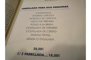 bares malaga: asador argentino patagonia