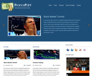 Finance Point WordPress Theme