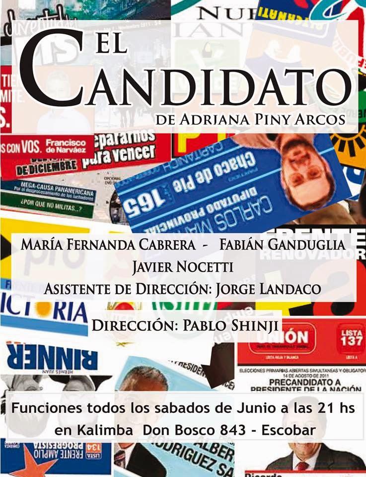 """""""El candidato"""" de Adriana Arcos"""