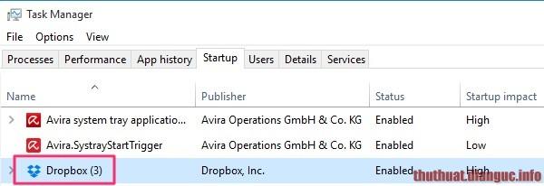 Cách tắt các chương trình khởi động cùng windows 7 8 8.1 10 để tăng tốc máy tính