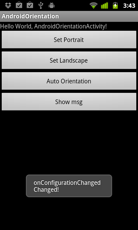 Onconfigurationchanged not called dating