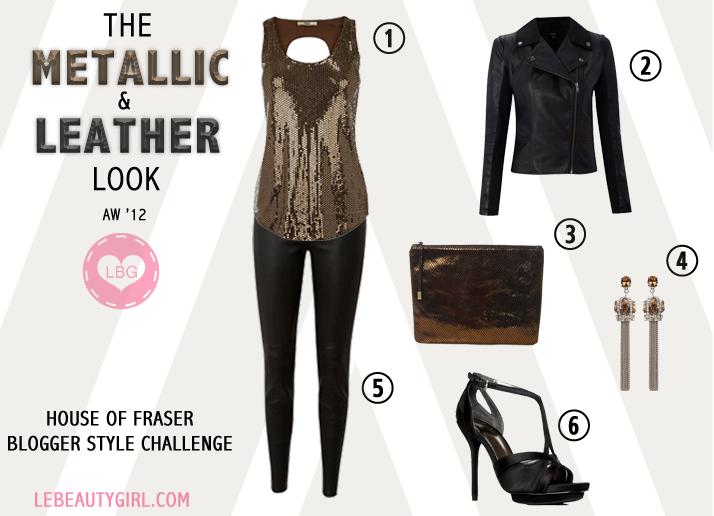 House of Fraser Blogger Style Challenge